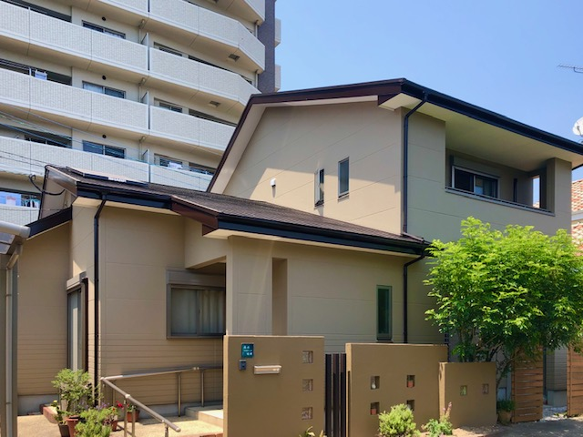 筑紫野市原田住宅外壁リフォームアフター